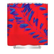 Crossing Branches 2 Shower Curtain