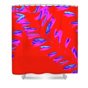 Crossing Branches 3 Shower Curtain