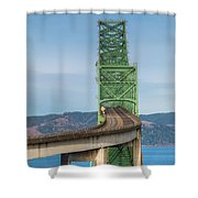 Crossing Columbia Shower Curtain