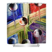 Crossing Dimensions Shower Curtain