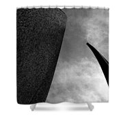 Crossing Into Vision Shower Curtain