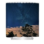 Crossing The Milky Way Shower Curtain