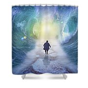 Crossing The Red Sea  Shower Curtain