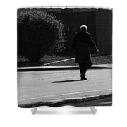 Crossing The Street Shower Curtain