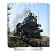 Crossing The Trestle Shower Curtain