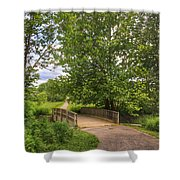 Crossing Toms Creek Shower Curtain