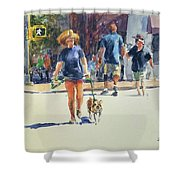 Crossing West 79th Shower Curtain
