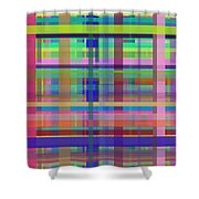Crossing3 Shower Curtain
