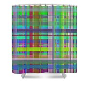 Crossing4 Shower Curtain