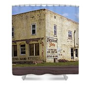 Crossroad Store Shower Curtain