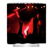 Crowd At A Rock Concert Shower Curtain