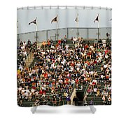 Crowd At Coors Field Shower Curtain