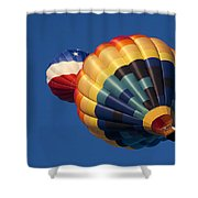 Crowded Pattern Shower Curtain
