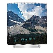Crowfoot Mountain Shower Curtain