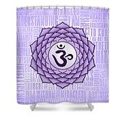 Crown Chakra - Awareness Shower Curtain