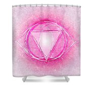 Crown Chakra Series Two Shower Curtain