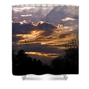 Crown Cloud Shower Curtain