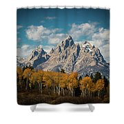 Crown For Tetons Shower Curtain