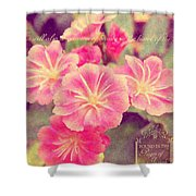 Crown Of Beauty Shower Curtain
