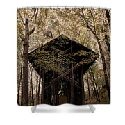 Crown Of Thorns Chapel Shower Curtain
