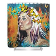 Crown Of Transformation Shower Curtain
