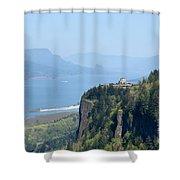 Crown Point Vista House Shower Curtain