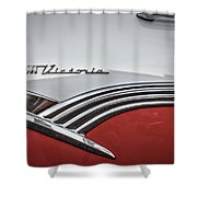 Crown Vic Shower Curtain