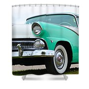 Crown Victoria Shower Curtain