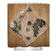 Crowned - Tile Shower Curtain