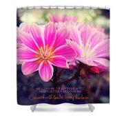 Crowned With Kindness Shower Curtain