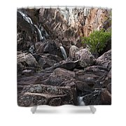 Crows Nest Falls During The Day. Shower Curtain