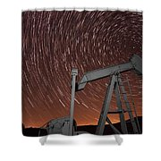 Crude Intentions Shower Curtain