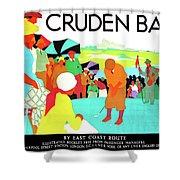 Cruden Bay, Golf Club, East Coast Route Shower Curtain