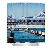 Cruise Ship Shower Curtain