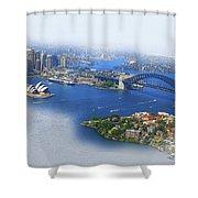 Cruise Sydney Shower Curtain