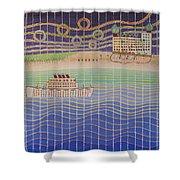 Cruise Vacation Destination Shower Curtain