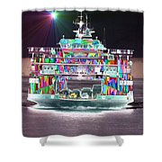Cruisin Shower Curtain