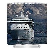 Cruising The Adriatic Sea Shower Curtain