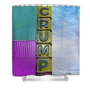 Crump Water Shower Curtain