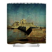 Crusaders Sea Castle Shower Curtain