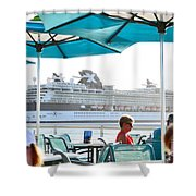 Cruse Float By Shower Curtain