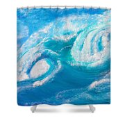 Crushing Wave Shower Curtain
