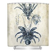 Crustaceans - 1825 - 28 Shower Curtain