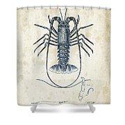 Crustaceans - 1825 - 30 Shower Curtain