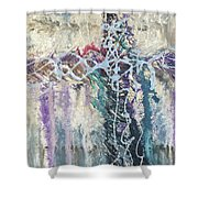 Crux 4 Shower Curtain
