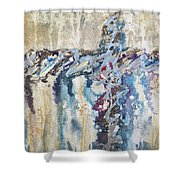 Crux 8 Shower Curtain