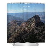 Crying Man Shower Curtain