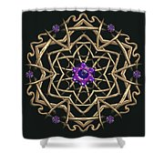 Crystal 19 Shower Curtain