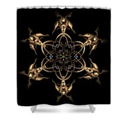 Crystal 24 Shower Curtain