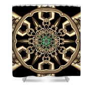 Crystal 6134555 Shower Curtain